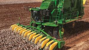 High Plains Cotton Harvest in High Gear