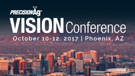 PrecisionAg Vision Conference October 10-12, 2017 Phoenix AZ